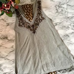 Gimmicks by Buckle Trapeze Tank Top NWOT